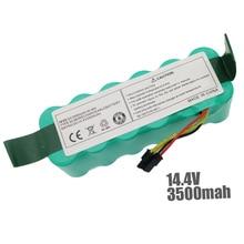14.4V 3500 mAh Ni MH akumulator do Ariete Briciola 2711 2712 2717 robotic Cleaner części do czyszczenia próżniowego
