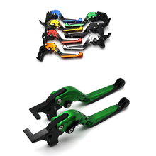 short long brake clutch levers for aprilia tuono 1000 v4 r tuono v4 1100 rr factory 2011 2016 motorcycle adjustable cnc for MV Agusta F4 RR/F4 RC 2011-2016 CNC Motorcycle Accessories Adjustable Brake Clutch Levers Foldable Extending with logo