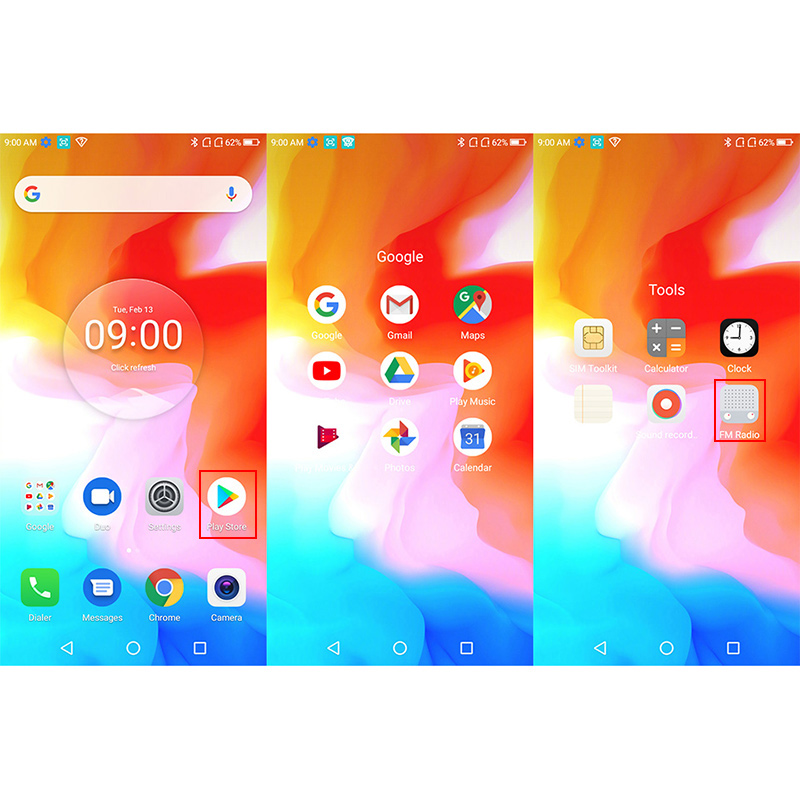 """Image 4 - HOMTOM H5 3GB 32GB Mobile Phone 3300mAh Fast Charge Android8.1 5.7"""" Face ID 13MP Camera MT6739 Quad Core 4G FDD LTE Smartphone-in Cellphones from Cellphones & Telecommunications"""