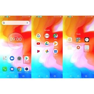 Image 4 - Homtom H5 3 ギガバイト 32 ギガバイトの携帯電話 3300 3400mah急速充電Android8.1 5.7 「顔id 13MPカメラMT6739 クアッドコア 4 グラムFDD LTEスマートフォン