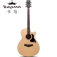 Kepma Lp Eletric Guitar Sitka Spruce top, Sapele Back and sides Acoustic Guitarra 41 Inch Standard Guitar