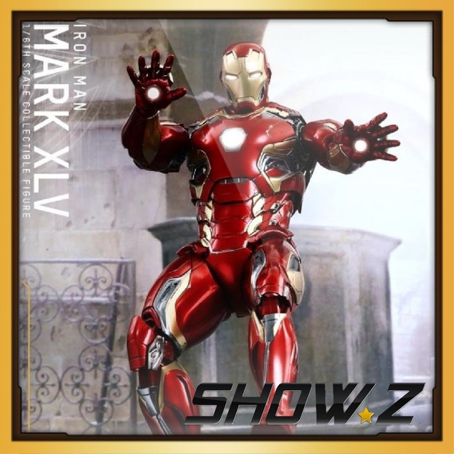 SHOW.Z [Add Order]HT HOT TOYS Iron Man 3 - 1/6th scale Iron Man MK45 Collectible Figure