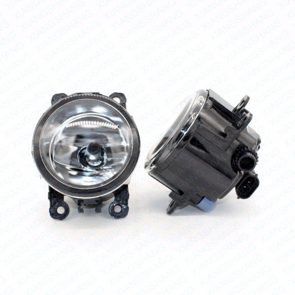2pcs Auto Right/Left Fog Light Lamp Car Styling H11 Halogen Light 12V 55W Bulb Assembly  For Renault Kangoo KW0 KW1 MPV 2008-15 датчик lifan auto lifan 2