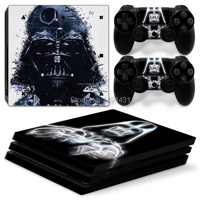 OSTSTICKER Vinyl Game Decal Skin Sticker For Playstation 4 Pro Cover Skins Console and Controllers