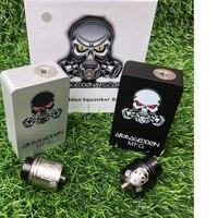 Armageddon Squonker BF Mod Box Kit Apocalypse bottom oil box set 18650 battery 6ml capacity kit with 510Thread Apocalypse mtlRDA
