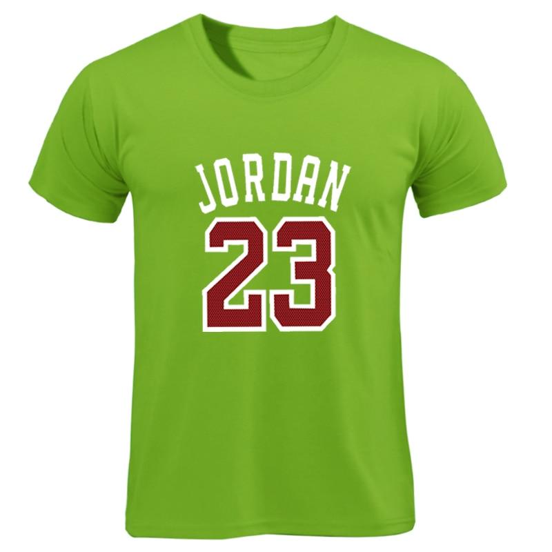 Summer Hot Man's Jordan 23   T     Shirts   Men Camouflage O-neck Fashion Printed 23 Hip-Hop Tee Camisetas Men Clothing Casual Top