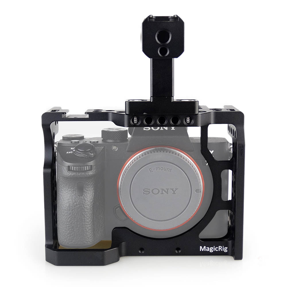 MAGICRIG DSLR Camera Cage with Top Handle For Sony A7II /A7I