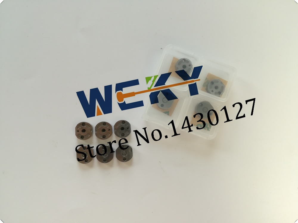 4pcs lot HOT SALE Best Quality Orifice Plate Control Valve Plate For Injector 095000 5550 095000