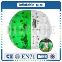 Бесплатная доставка 1 м/3.3ft пузырь Футбол мяч, пузырь Футбол, Бурлящий шарик для детей