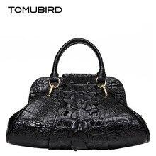 Брендовые женские сумки Топ-ручка Роскошь кожи коровы женские сумка крокодил зерна тиснение идеально женские сумки моды мать сумки