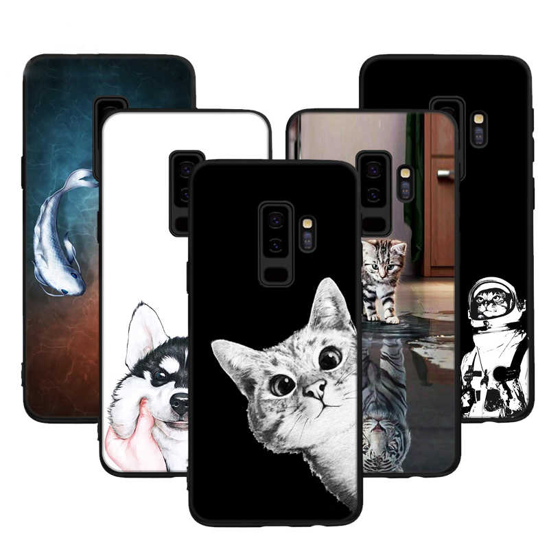 Painting Pattern Case For Samsung Galaxy S9 S8 Plus J5 J3 J7 A5 2017 A3 A7 2016 A8 2018 S6 S7 Edge J2 Pro Cute Animal TPU Cover