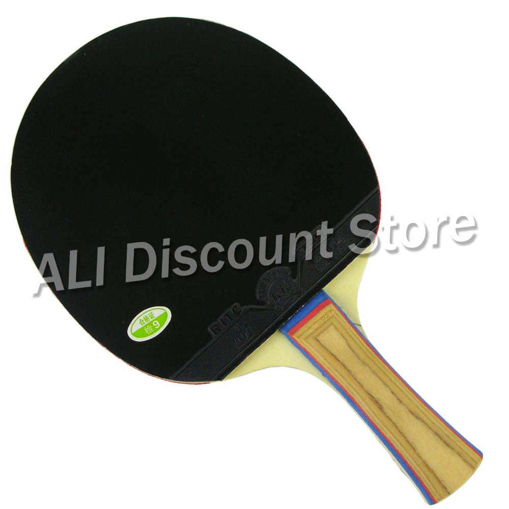 RITC 729 Friendship 1020# Pips-In Table Tennis Racket for Ping Pong Shakehand long handle FL