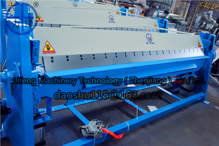 Pneumatic sheet metal benders , foot switch Galvanized plate manual bending machine for sale