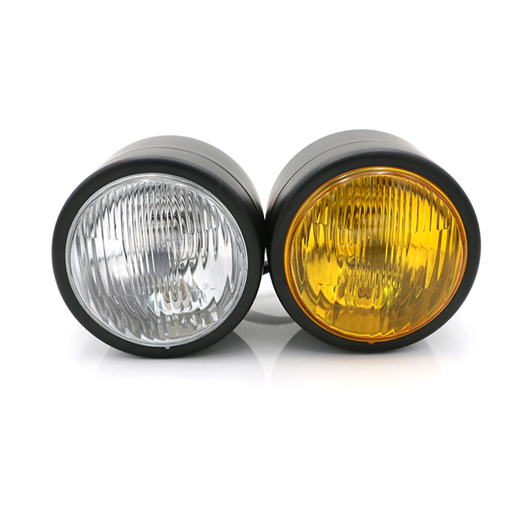 Motorcycle Headlights Twin Headlight Motorcycle Double Dual Head Lamp Dominator General For Harley Honda Yamaha Kawasaki Suzuki свитшот mango kids mango kids ma018ebvfq77