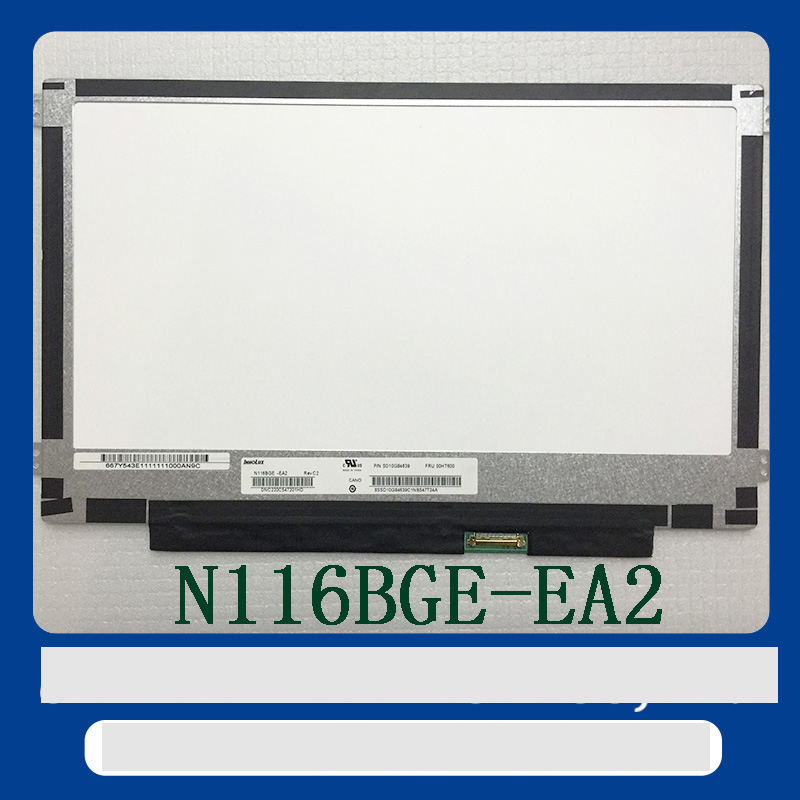 Free shipping B116XTN02.3 B116XTN02.1 N116BGE-EA1 N116BGE-EB2 N116BGE-EA2 M116NWR1 R7 LED LCD Screen Panel 30PIN eDP цена