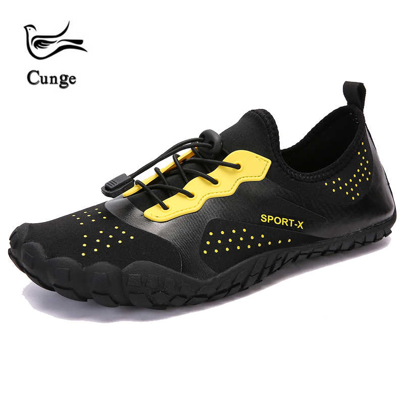 a3d081b31 cunge Mens Breathable Sandals Hiking Shoes Quick drying Couple fishing beach  shoes Sneakers Women Trekking Trail