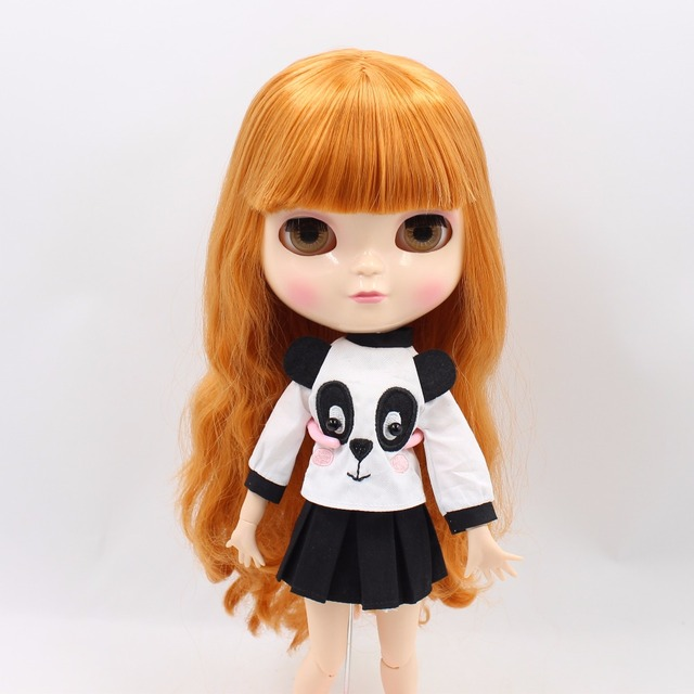 ICY Neo Blythe Doll Orange Hair Jointed Azone Body