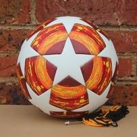 Red Madrid 19 Final Balls 2018 2019 League Soccer Ball PU high grade seamless paste skin football ball