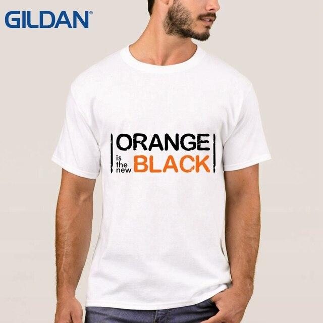 eb2494b66793 Making Brand-Clothing Black Men's Orange Is The New Black O-Neck T-Shirt  Comfortable TShirt Cotton Simple Plus Size