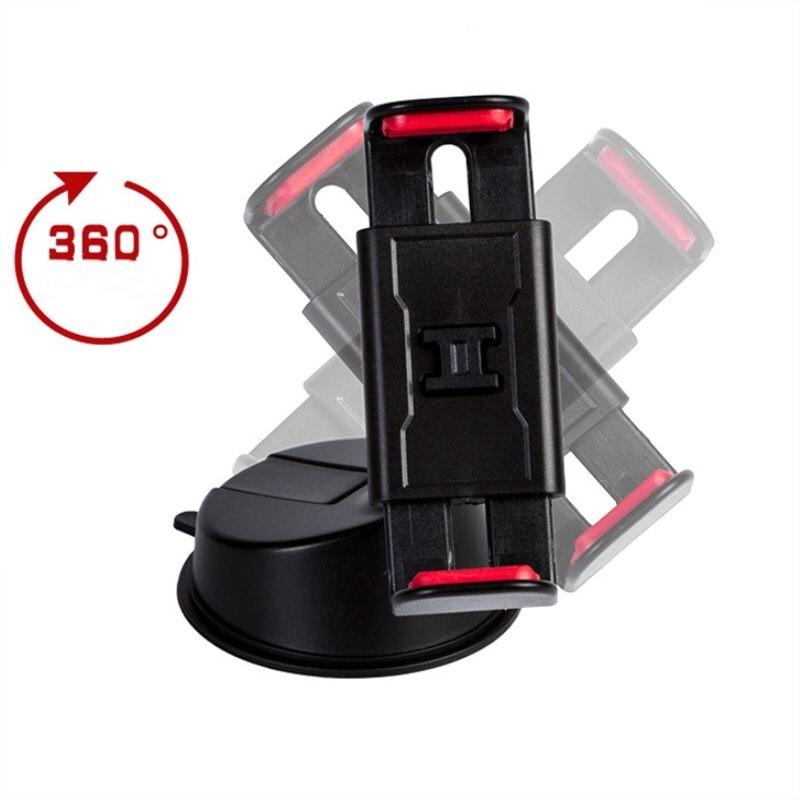 Winnr мобильный телефон автомобильное крепление кронштейн держатель 360 градусов вращения Универсальный лобового стекла автомобилей типа при…