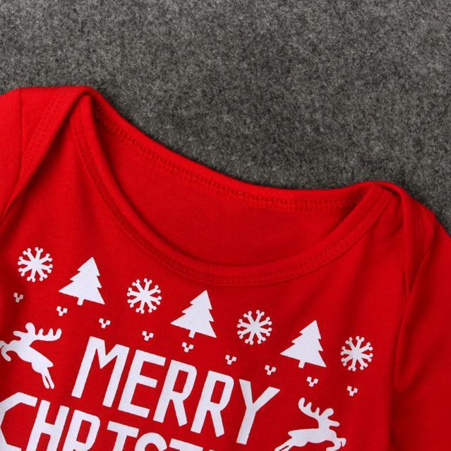 HTB1Dyo6hXOWBuNjy0Fiq6xFxVXaH - New 2016 new born baby clothes  Boys Girls Printed Christmas Romper Jumpsuit Xmas winter romper ld ourlove bebes