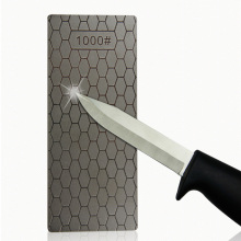 1PC Bärbar Ultra-Tunn Diamantskärpsten 150 * 63 * 1mm Honeycomb Surface Whetstone Kniv Sharpener Kök Slipverktyg