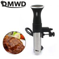 DMWD Vacuum Slow Sous Vide Food Cooker Immersion Heater Circulator Beef Steak Processor Digital Timer Display Stainless Steel EU