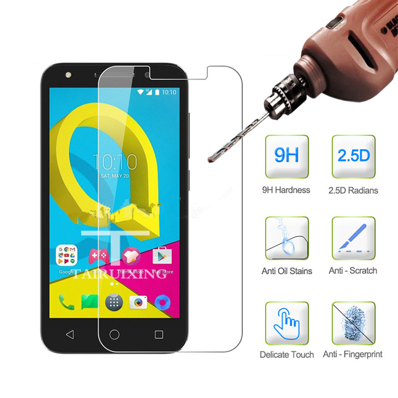 9H Tempered Glass for <font><b>Alcatel</b></font> U5 3G 4G HD 4047X 4047D 5044Y 5044D <font><b>5044T</b></font> 5044I 5047D Screen Protector for <font><b>Alcatel</b></font> U5 image