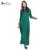 Azul Abaya muçulmano vestido casual roupas mulheres Turcas islâmicos abayas musulmane longos vestidos roupas dubai kaftan longa giyim