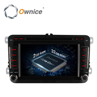 Ownice Android 6 0 4 Core 2G RAM 2 Din Car DVD Player For Volkswagen Golf