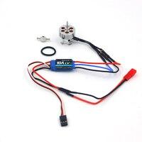 RC hobby power system combo motor and ESC 16 grams brushless outrunner 2211 1100KV 1300KV 1700KV 2300KV 3000KV 10A ESC