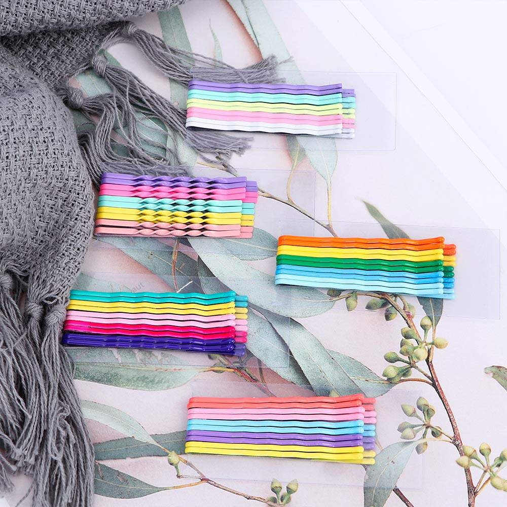 Cute 10Pcs//Set Candy Color Kids Girl Hairpin BB Snap Hair Clips Hair Accessories