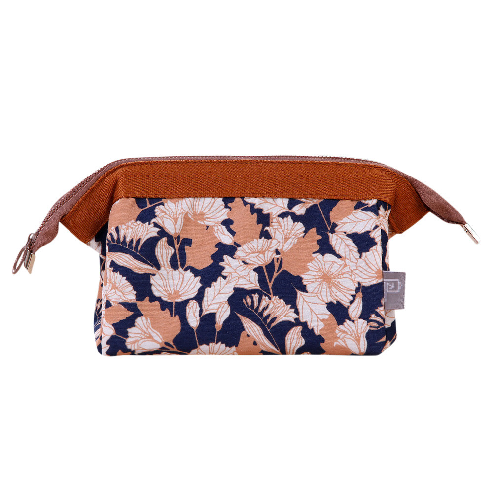 Portable Cosmetic Bag Canvas Storage Multifunction Makeup Bags Travel Toiletry Mini Pouch Zipper Easy Open Case Printing Flower leather work gloves deluxe tig mig welding glove excellent comfoflex tig mig grain goatskin leather welding work glove