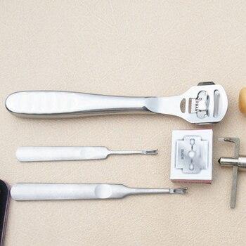 Kits De Sculpture Sur Bois | 18 Pièces/ensemble En Cuir Artisanat Poinçon Outils Kit Couture Sculpture Travail Couture Selle Groover Maroquinerie Accessoires
