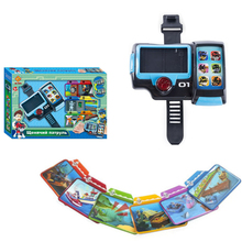 Paw Patrol Toy dog call Summoner card Task card Watch Action Figure Anime PVC Model Toy for Children Gift цены