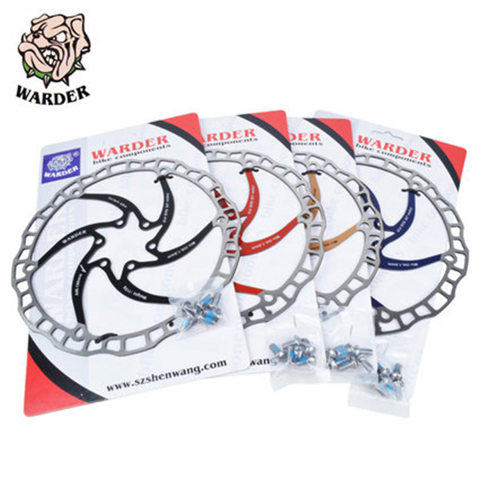 1st MTB 160/180 / 203MM Mountain Bike Rustfri Stål Disc Brake Rotor High Quality Bremseskive Gratis forsendelse