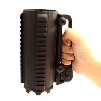Tactical Military Multifunction Aluminum Detachable Carry Battle Rail Mug Cup
