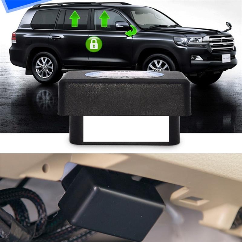 OBD Auto Window Closer Closing Module Mirror Fold Open Driving lock For Toyota Land Cruiser 200