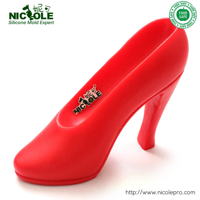 Free Shipping Nicole Factory Direct High Heel Shoe Silicone Soap Mold For Chocolate Moulds Cake Decorating DIY Tool