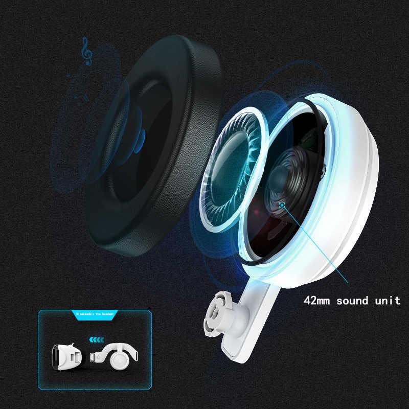 Оригинальный виртуальной реальности 3D очки Box стерео VR Google картонная гарнитура шлем для IOS Android-смартфон 4-6 дюймов телефон