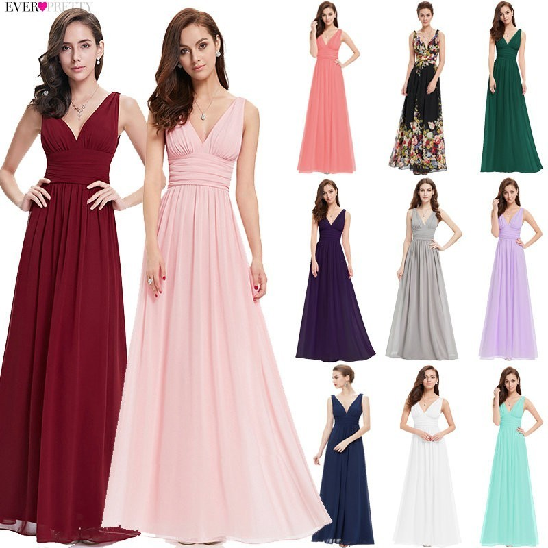 Evening     Dresses   New Arrival Empire EP09016 Ever Pretty Special Occasion   Dresses   V Neck Elegant 2019   Evening     Dresses
