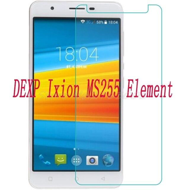 """Nuevo Teléfono Protector de pantalla de 2 piezas para DEXP Ixion MS255 elemento 5,5 """"cubierta protectora de película de vidrio templado para SmartPhone"""