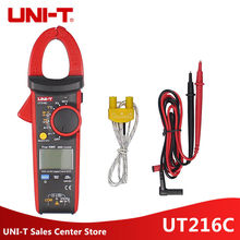 UNI-T UT216C 600A Frequency Capacitance Temperature&NCV Test Digital Clamp Meters True RMS Test AC DC Auto Range Multimeters uni t ut216c multimeters 600a true rms digital clamp meters auto range w frequency capacitance temperature ncv tester