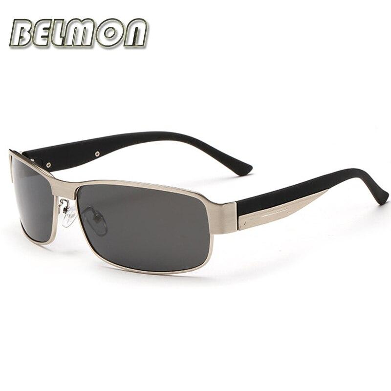 ef360b0e6 Moda Óculos Polarizados Homens Marca Designer Óculos de Sol Piloto Para A  Segurança do Sexo Masculino Óculos de Condução UV400 RS124 em Óculos de sol  de ...