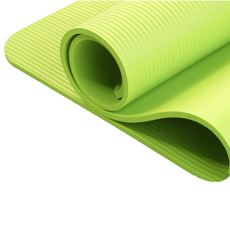 2018 ใหม่ 4 ยูทิลิตี้การออกกำลังกายเสื่อโยคะลื่นแผ่นหนาพับออกกำลังกายพิลาทิสเสื่อออกกำลังกาย 4 สี