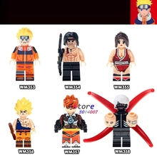 Single Uzumaki Stallone First Blood Rambo Mai Shiranui Son Goku Tracer Tokyo building blocks models bricks