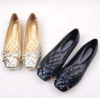 Free Shipping Coat Of Paint Pointed TOE Flat Shoes Women S Shoes Size 35 41