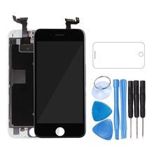أعلى البائع الجمعية شاشة الكريستال السائل التحويل الرقمي لفون 6 s AAA جودة LCD تعمل باللمس ل فون 6 7 5 s لا الميت بكسل مع هدايا
