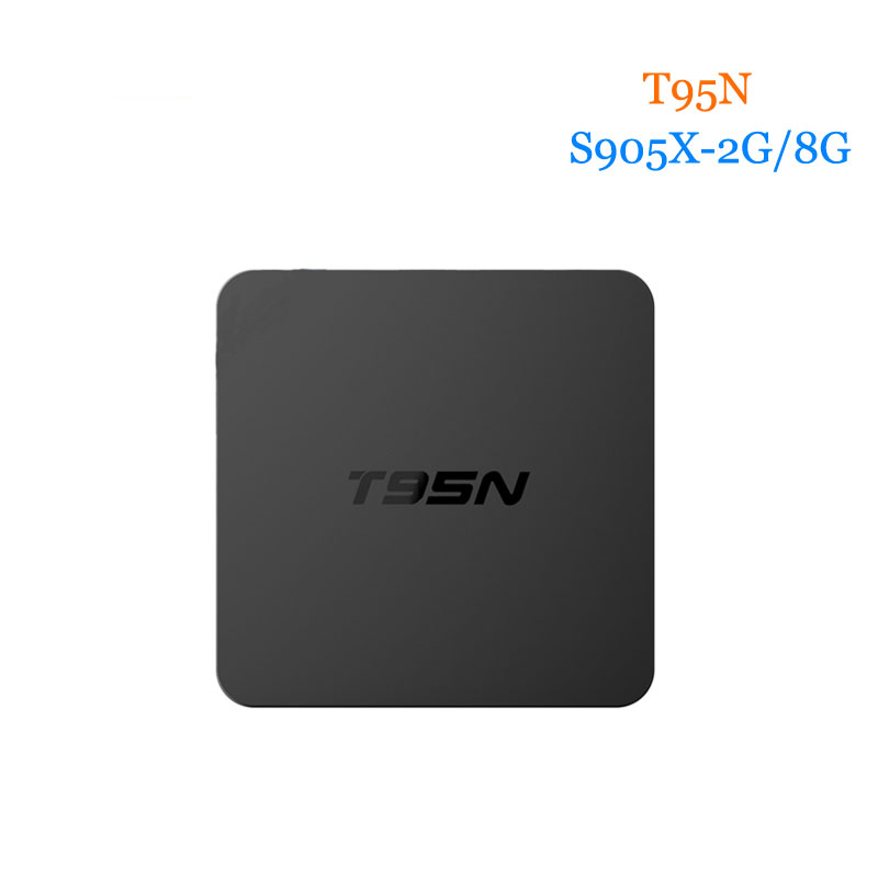 T95N tv box Android 6 0 S905X Quad Core A53 Wifi KDplayer16 0 2G 8G Set