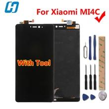 Ограниченное предложение Xiao Mi 4c ЖК-дисплей Дисплей + Сенсорный экран новый дигитайзер Стекло Панель сборки Экран Для Сяо Mi 4c